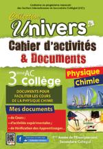 Cahier d'activités et Documents Physique chimie - 3AC