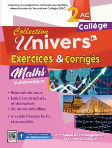 Exercices corrigés Maths 2AC