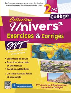 Exercices corrigés SVT 2AC