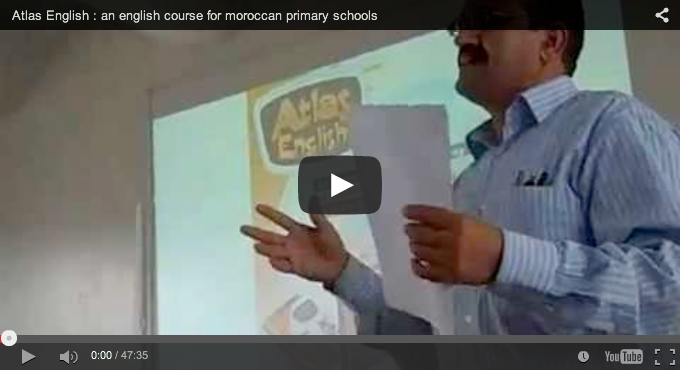 An introduction to Atlas English : an english course for moroccan primary schools